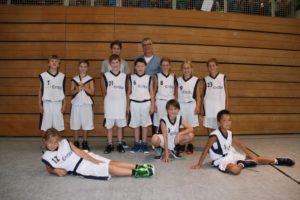 Mannschaft und Trainer U12-2