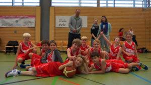 Mannschaftsfoto U10 gegen Mammendorf