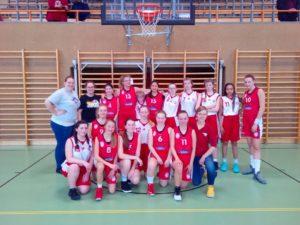 U16 TuS Fürstenfeldbruck und Berlin Baskets